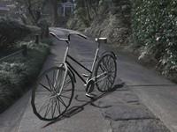 free bike city 3d model