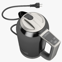 3d max electric kettle kitchen