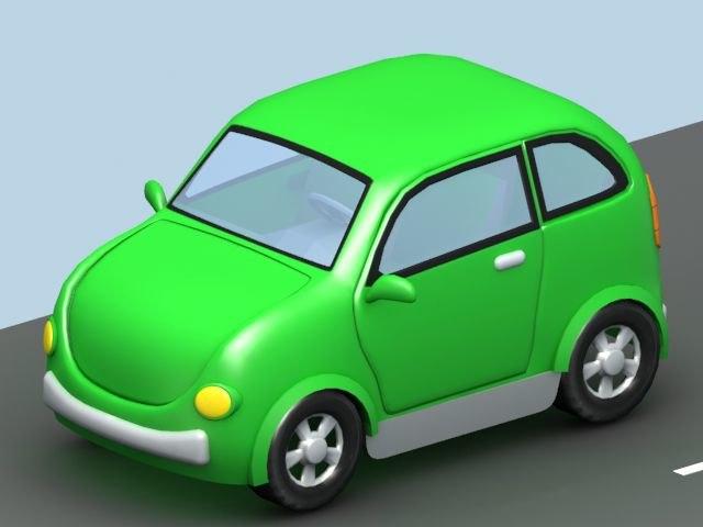3d cartoon car01