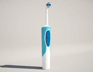 electric toothbrush 3d model