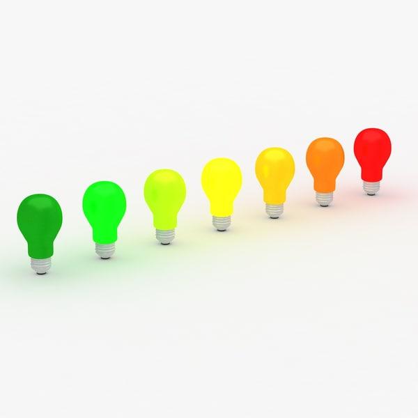 energy efficiency 3d model