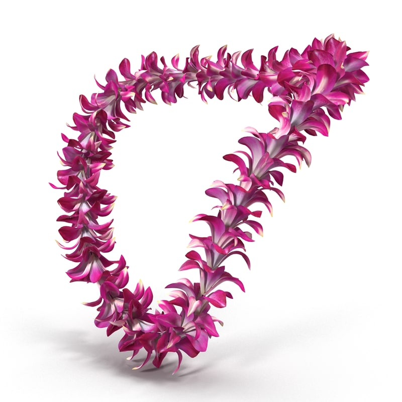 moss on yarn fern best and hawaiian necklace three dark pinterest candy purple images in leis straw ribbon lei