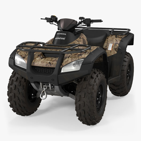 honda quad bike 3d 3ds