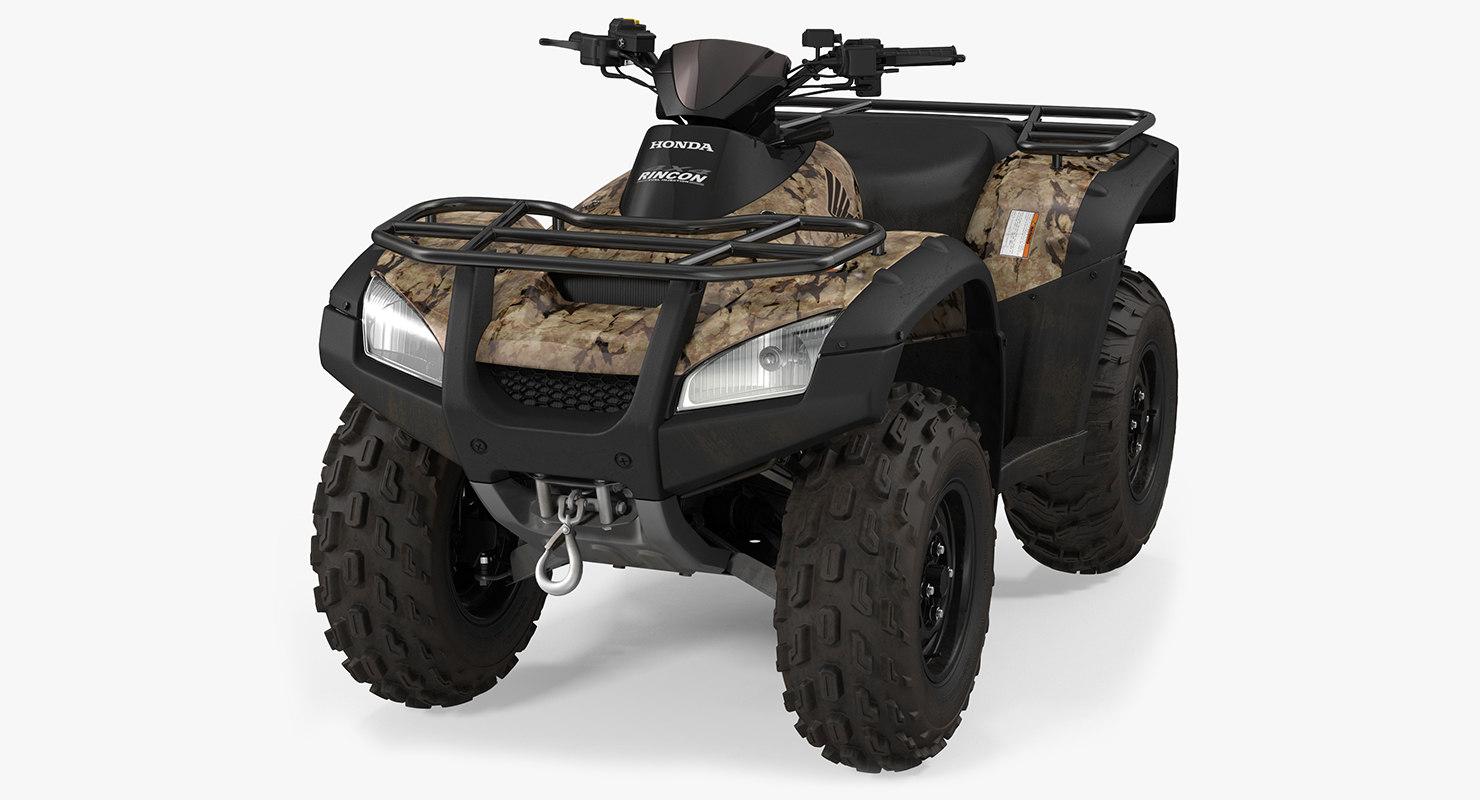 honda quad bike 3d 3ds