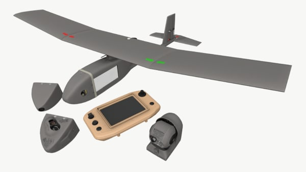 drone rq-11b raven 3d max