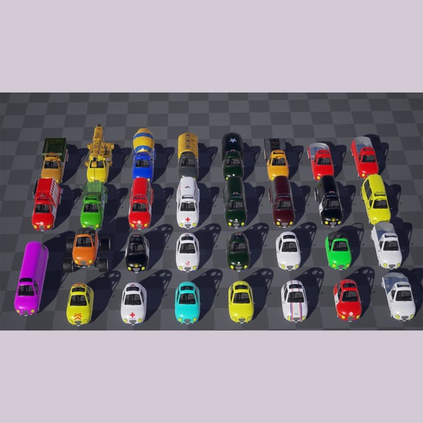 3d toon vehicle kit