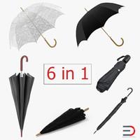 umbrellas 3 parasol 3ds