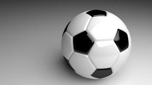 soccerball ball obj