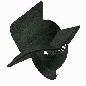 bronze helmet gladiators 3d max