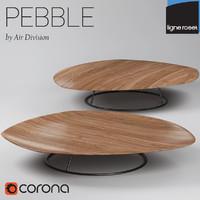 tables walnut 3d model