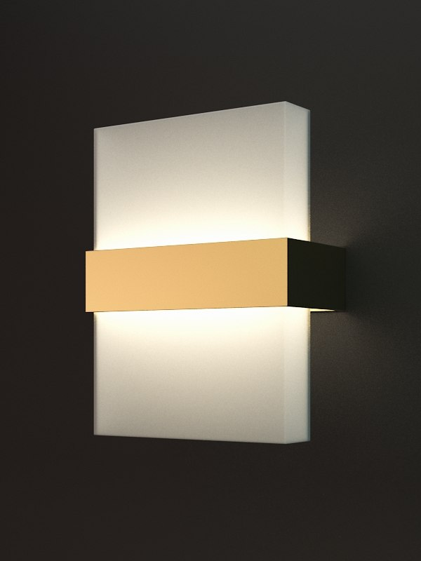 3d model scordia wall lamp