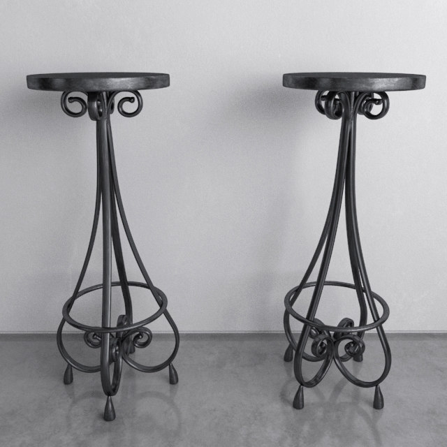 vintage bar stool metal max