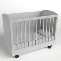cradle 3d model