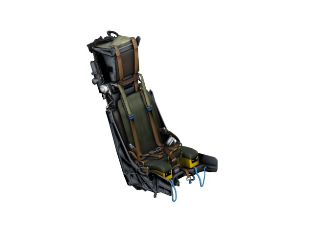3d ejector seat
