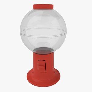candy dispenser 3d model