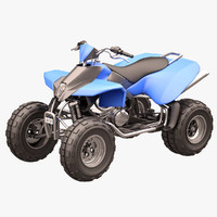 3d rocky mountain atv model