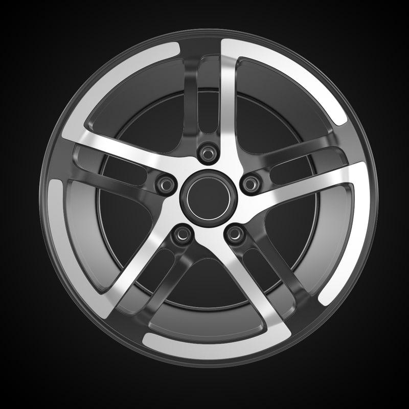 tuning rim 3d model