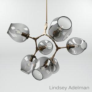 lindsey adelman bb 07 3d model