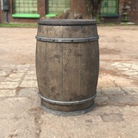 contains barrel obj