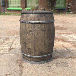 contains barrel obj