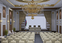 3d max conference hall