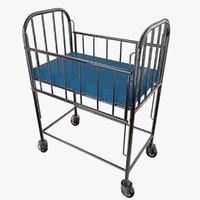 3d model crib