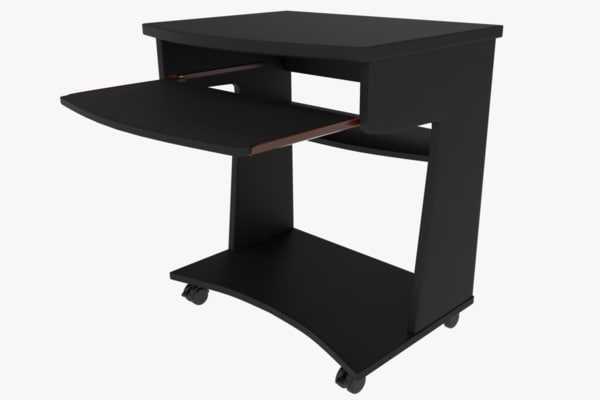 3d modern computer table model