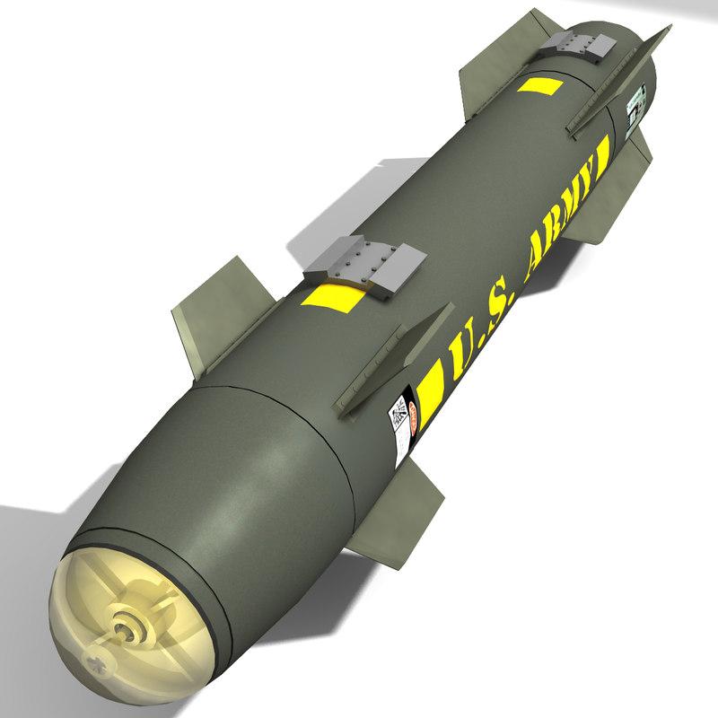 max agm-114a hellfire missile