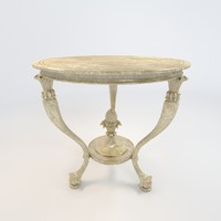 table style 3d model