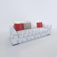 sofa enzo 3d model