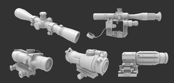 3d model scope