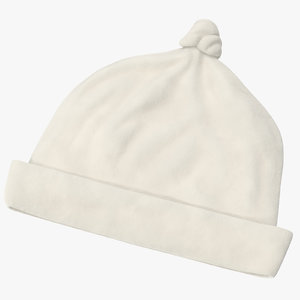 newborn cap 03 3d model
