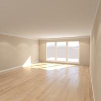 preset living room 3d max