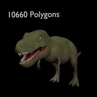 3d model of tyrannosaurus rex