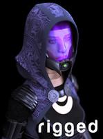 girl alien 3d max
