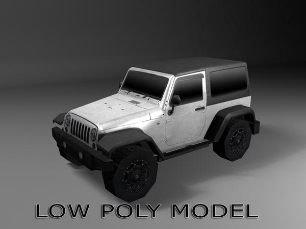 jeep ready 3d obj