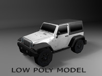 Low poly Jeep