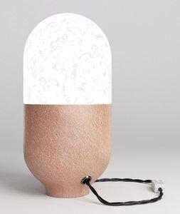 lamp clay obj