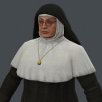 3d nun sister