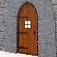 x medieval door
