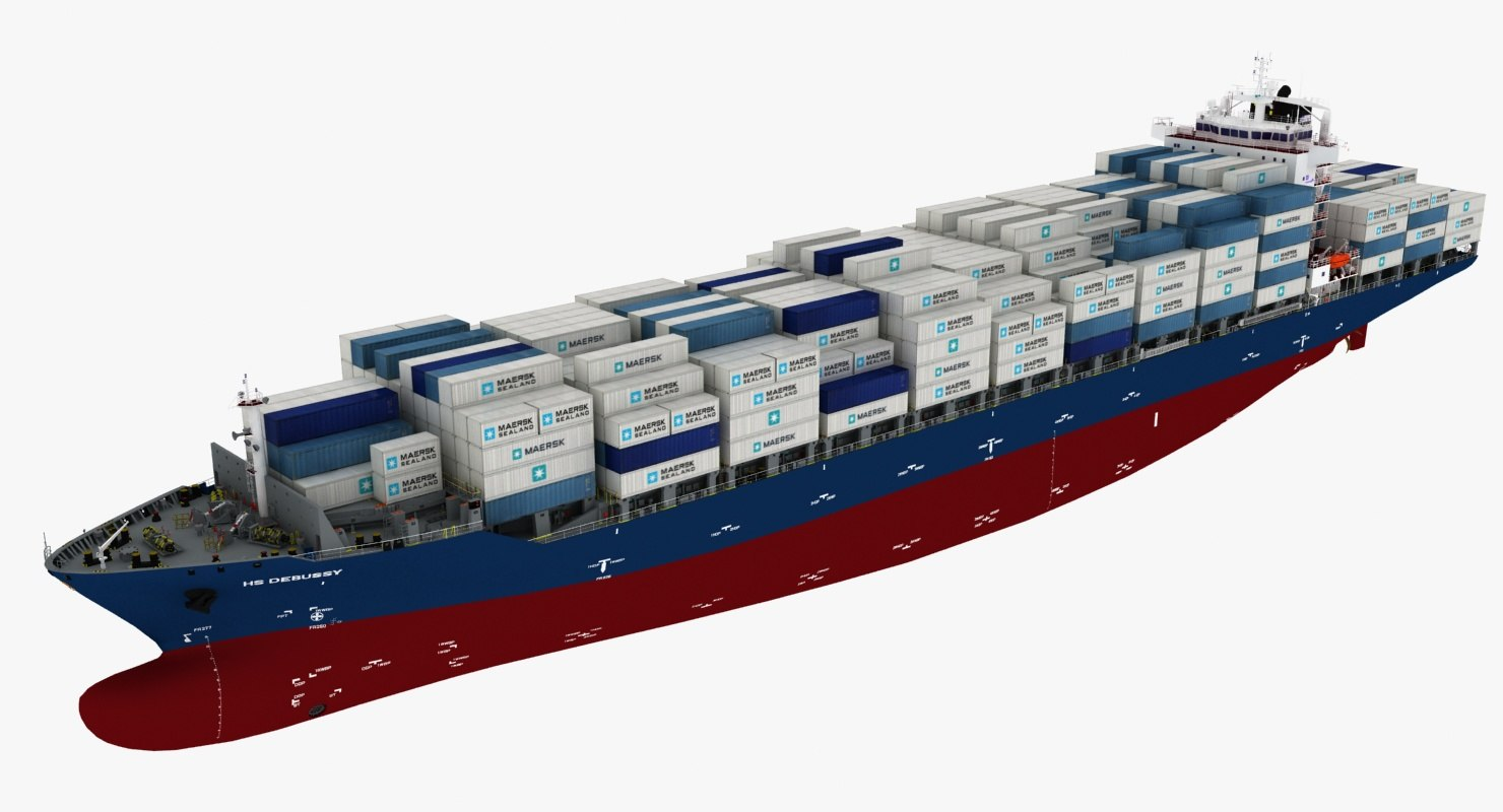 3d ship container hs debussy