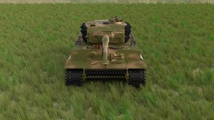 3d panzerkampfwagen tiger e late