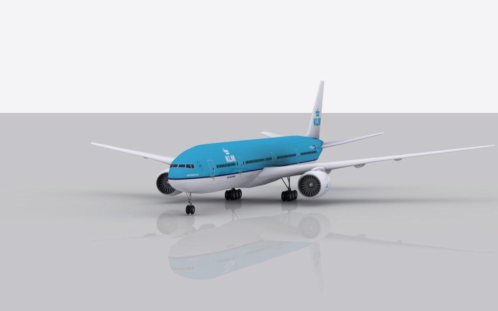 max airplane boeing 777-300 er