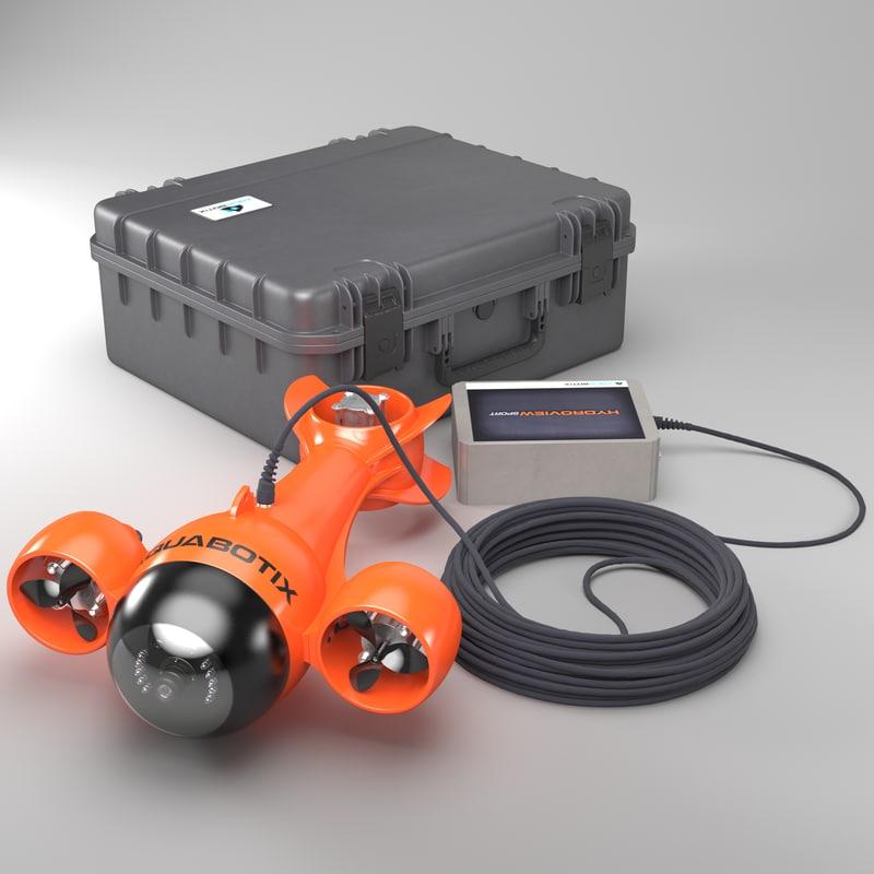 3d model hydroview aquabotix
