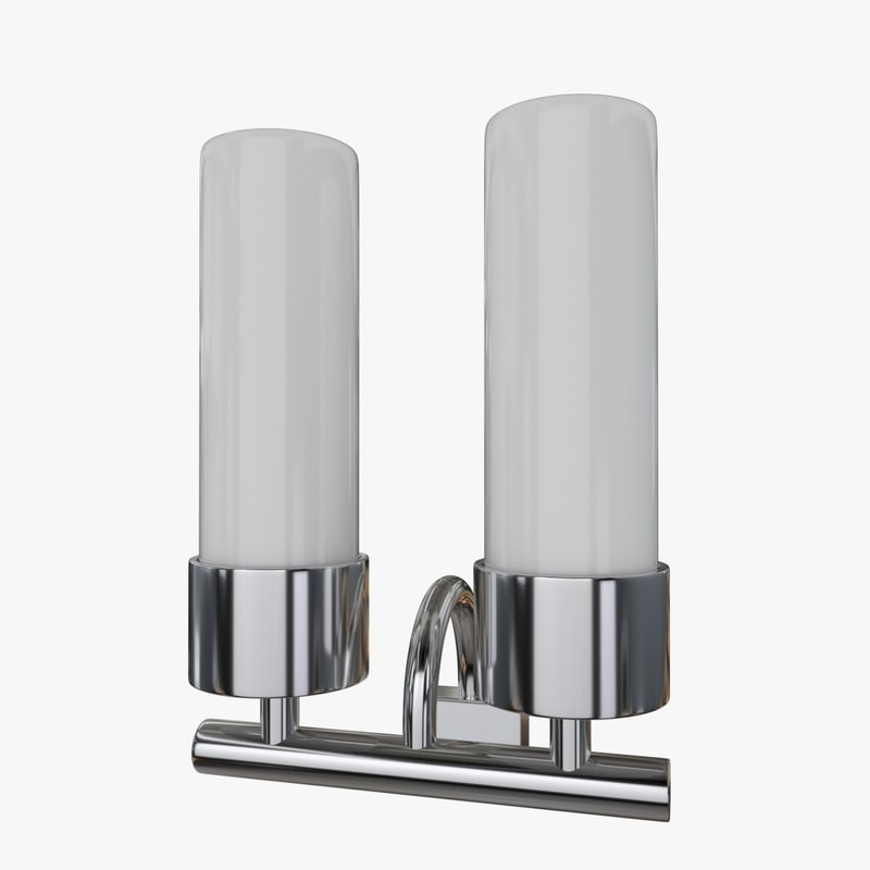 3d model wall lamp sconce