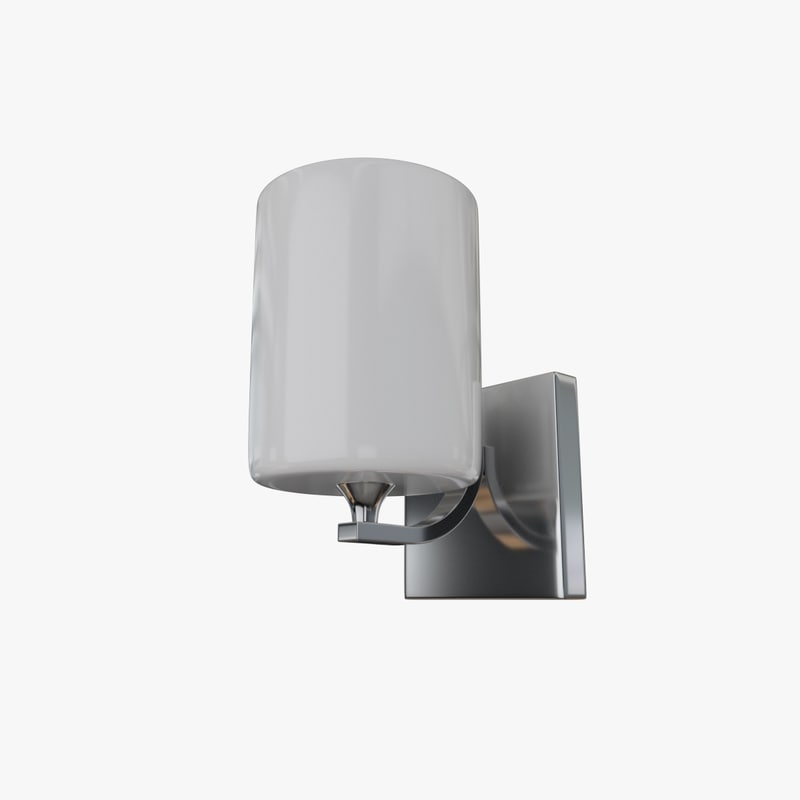 wall lamp sconce 3d model