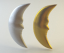 Crescent Moon 3D models