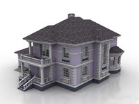 house toy story 3d model