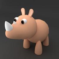 rino rigged 3d max