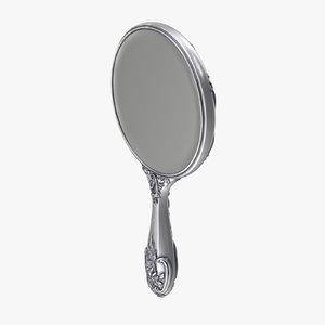 3d model hand mirror 02
